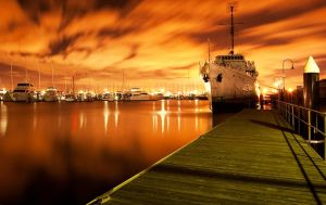 Williamstown at night by daniellepowell82