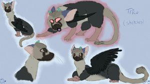 Trico Doodles by StarryAria