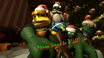 Merry Xmas to y'all! :D [SFM] by GeneralRatchet