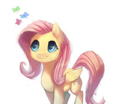 Fluttershy by Siffou