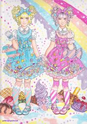 two_loli_in_milky_planet_ by Francesca-Osterlund