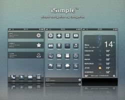 iSimple theme  for iPhone by alxboss