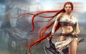 Heavenly Sword by Masquerade-Endeavors