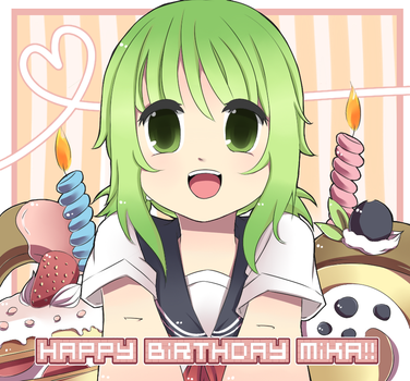 Happy Birthday Mika! by sinisterscene04