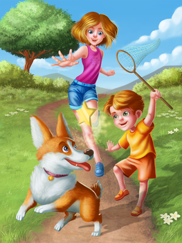 Play Day in the Park by Hikari-chyan