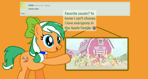Ask Alexis #13-Favorite Cousin by EmoshyVinyl