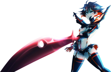 Ryuko Matoi (transparent) by Glamist