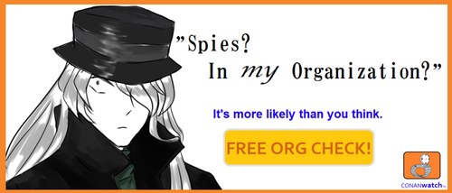 Spies? In MY Organization? by Blackqueenwhite