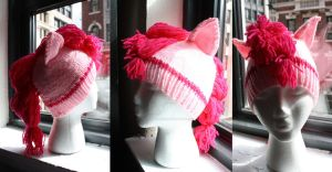 Pinkie Pie Earth Pony Hat by itsthekitsunekid