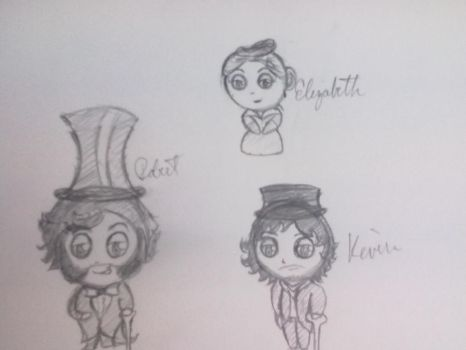 Copper Chibis by InuDemon1992