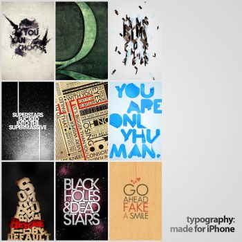 Typography: Made for iPhone by Anton101