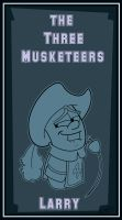 Musketeer Larry card by Kenny-boy