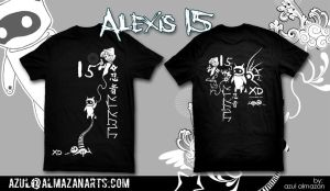 T-shirt Alexis 15 by azularts