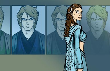 SW Kids Book Cover PADME by grantgoboom