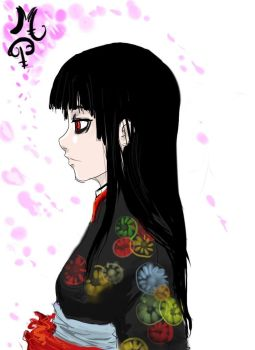 Hell girl by ManiacPaint