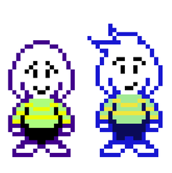 Asriel and Torego by CrystalSailorMoon