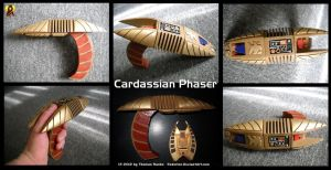 Cardassian Phaser Prop by Euderion