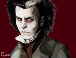Sweeny Todd by gilly15