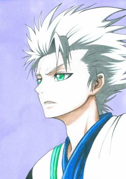 Hitsugaya by SpeedyDaRk