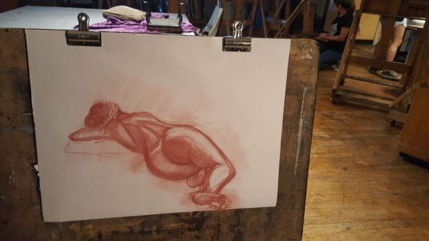 Figure Drawing success by CarnageComix
