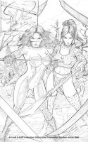 Arrow of Destiny pg 18 pencils by MAW-Productions