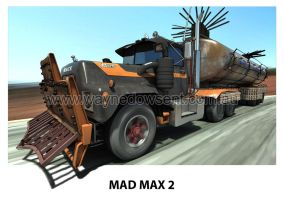 MAD MAX 2 MACK TRUCK by waynedowsent
