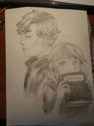My favourite book character- Sherlock Holmes by AlesiaAi