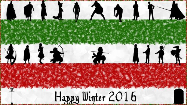 Happy Winter 2016! by fantasiesfuture