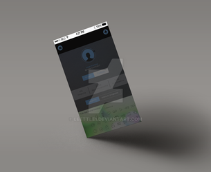 Unnamed mobile App : user profile informations by Leettle1