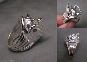 Koopa shell ring by EagleWingGallery
