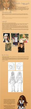 Character design guide by Noiry