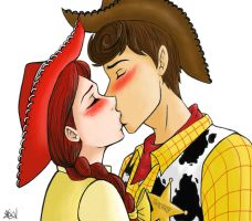 Commission: Woody x Jessie by MichirurEmO