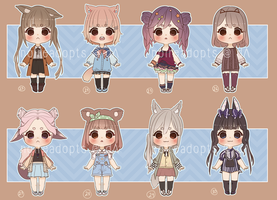 Adoptables batch 9 [OPEN 5/8] [SET PRICE] by noireadopts