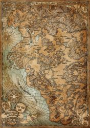 Albernia and Windhag (Ingame-Map) by SteffenBrand
