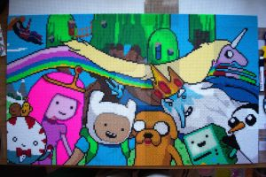 Adventure Time in Beads by mininete