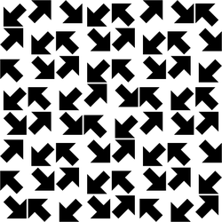 Tilted Arrow Pattern 2 by andydiehl