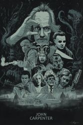 John Carpenter Poster by TylerChampion