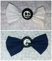 Nightmare Before Christmas Bowties by wolf-girl87