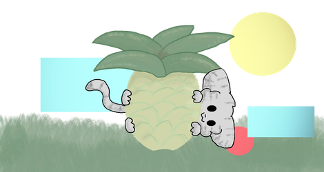 Pineapple for the Kitten by Ask-Darkforest-Ivy