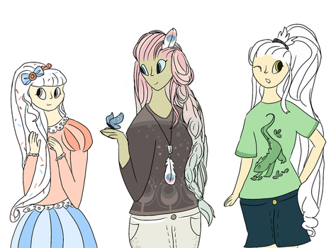 Human Bean Forms 2 by SophieSuncatcher