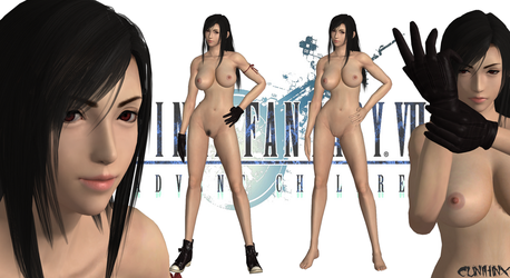 Tifa (Final Fantasy VII AC) Nude Mod For XPS by cunihinx