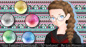 [MMD] [DL] - Eye Texture Download! by LinMaro18