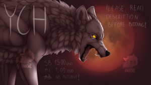 Call of the Moon: YCH AUCTION: CLOSED! by ImmatureGirl