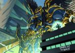 Goldar by weremole