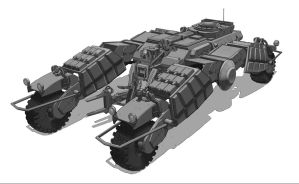 Assault Vehicle by Jiahow