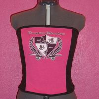Drop Kick Murphys Corset top by crafterbynite