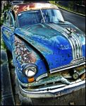 Grandfather PONTIAC HDR by zentenophotography
