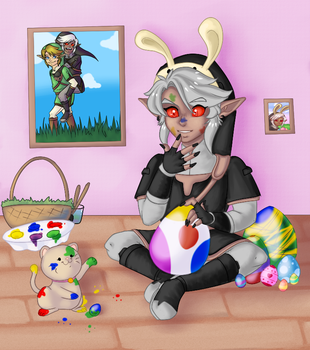 Prepping for Easter by o0oLaylao0o