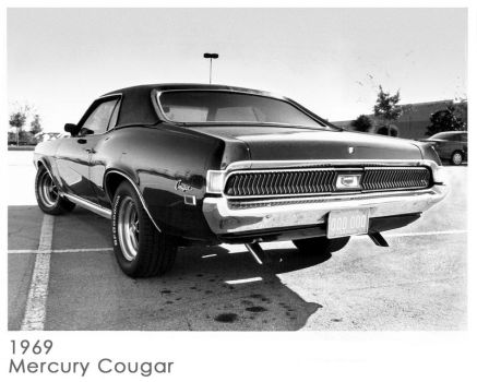 1969 Mercury Cougar by scarcrow28