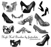 High Heel Brushes by fartoolate